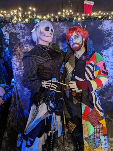 PHOTO: Kei Hoffman and her husband dressed as Jack Skellington and Sally. (Courtesy of Kei Hoffmann)