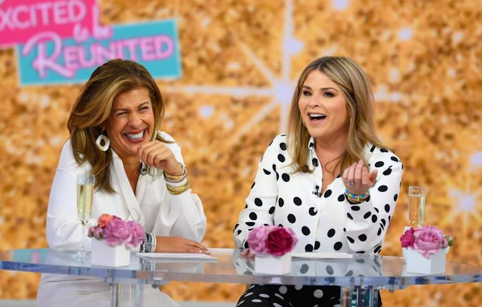 Jenna Bush Hager (right) with [ent-hotlink id=