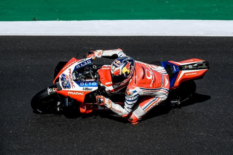 Jack Miller was quickest in third practice for the Portuguese MotoGP