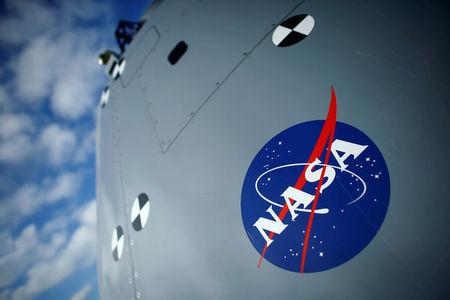 FILE PHOTO: A test version of the Orion crew module