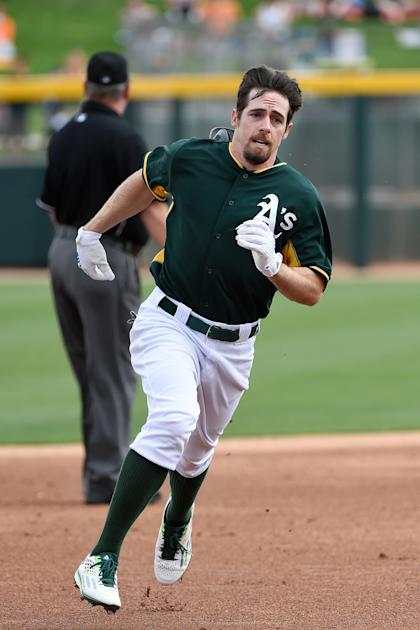 Billy Burns, yet another base burglar. (Photo by Lisa Blumenfeld/Getty Images)