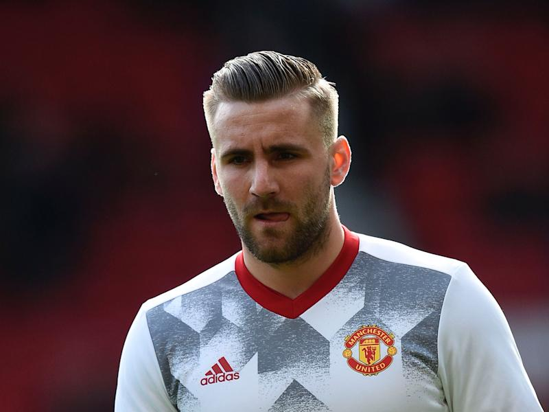 Luke Shaw has vowed to make a success of his career at Manchester United: Getty