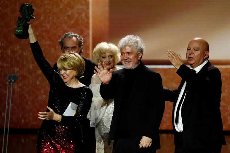 Spanish Film Academy's Goya Awards ceremony in Malaga
