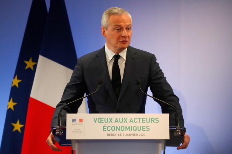 Talks on tech tax with U.S. still difficult: France's Le Maire
