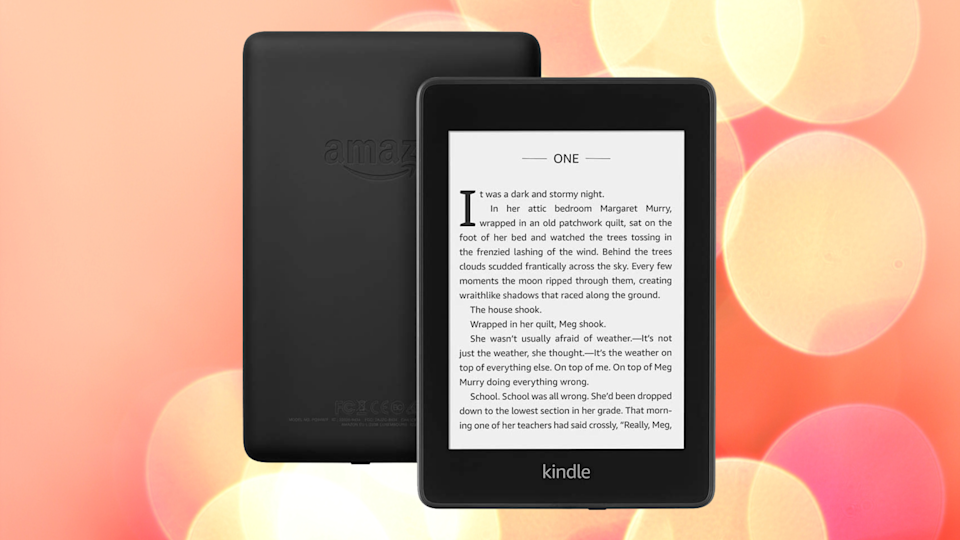 Read thousands of e-books with the Kindle Paperwhite — save nearly 40 percent! (Photo: Amazon)