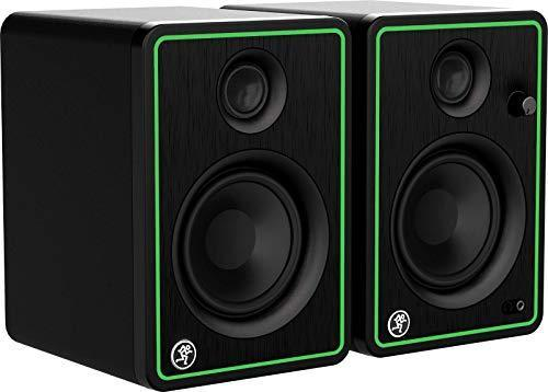 Mackie CR-X Series, 4-Inch Multimedia Monitors with Professional Studio-Quality Sound - Pair (C…