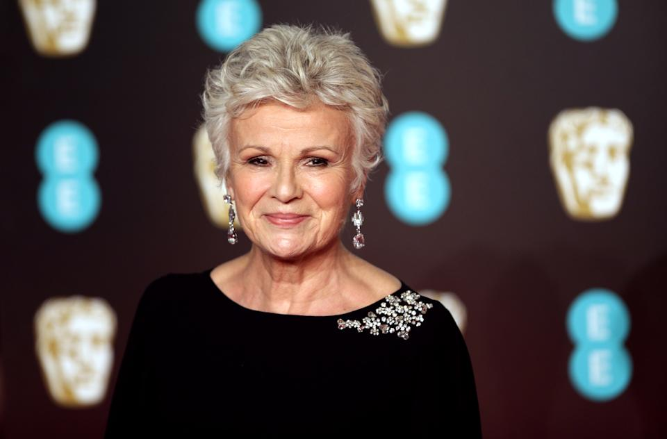 Julie Walters attending the EE British Academy Film Awards held at the Royal Albert Hall, Kensington Gore, Kensington, London. (Photo by Yui Mok/PA Images via Getty Images)