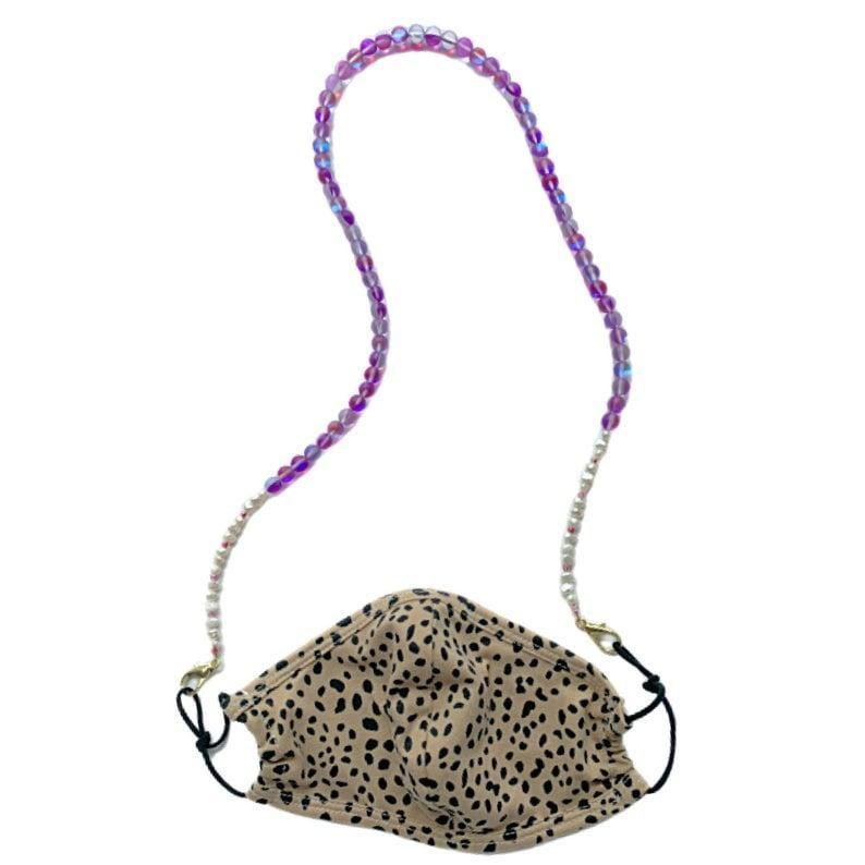 <p><span>WYMS Adella Beaded Mask Chain</span> ($45)</p>