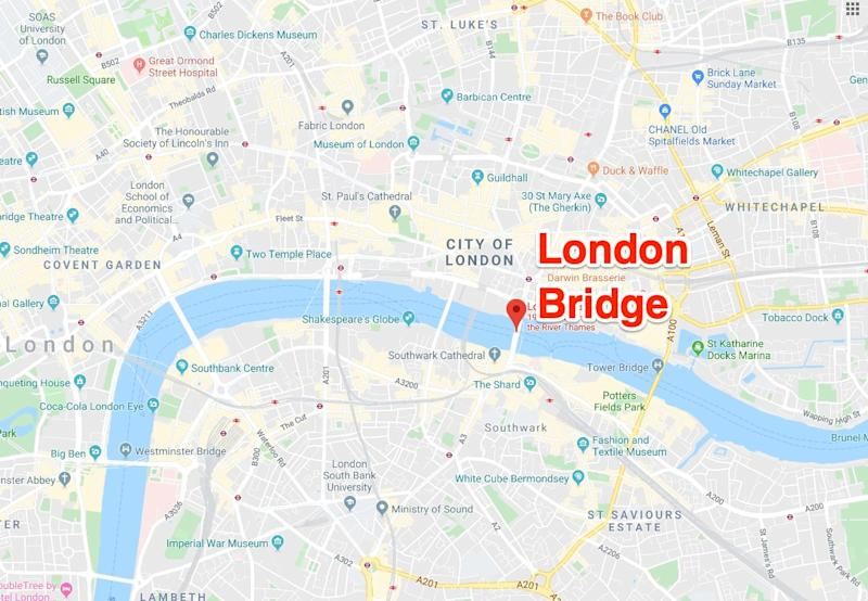 London Bridge location