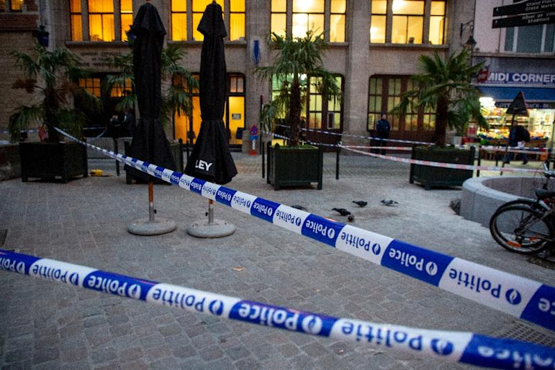 Police officer injured in Brussels knife attack