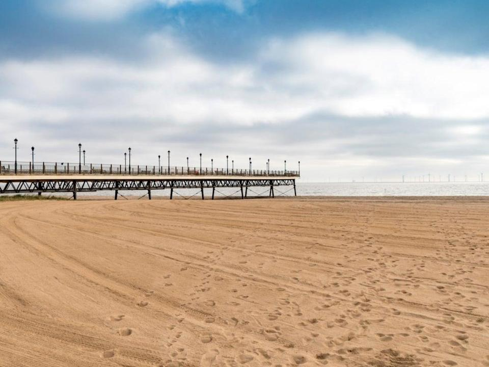 <p>Clean sweep: Skegness in Lincolnshire is just one of England's 77 Blue Flag beaches</p> (Getty Images/iStockphoto)