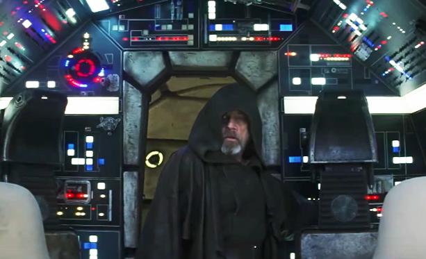 The Return To The Millennium Falcon Was An Emotional One For Mark Hamill On The Set Of 'The Last Jedi'