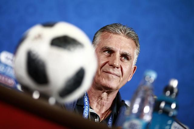 Iran coach Carlos Queiroz was in a defiant mood ahead of his team's World Cup match against Spain (AFP Photo/Benjamin CREMEL)