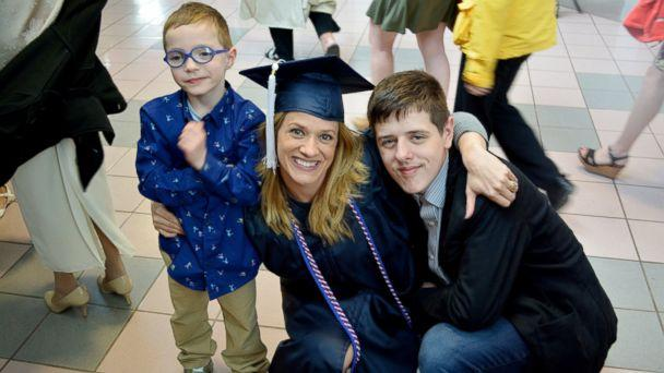 PHOTO: GMA' honored Danielle Joliet, a U.S. Army veteran and mother of two, after she graduated from Pennsylvania State University this year. (Danielle Joliet)