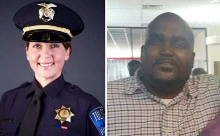 Terrence Crutcher and Betty Shelby thegrio.com