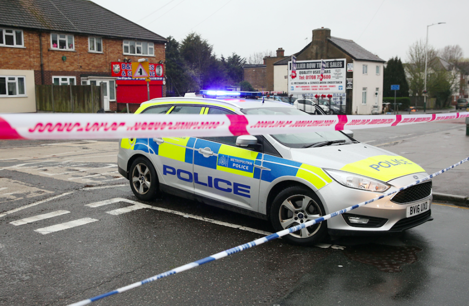 <em>A huge part of the area has been closed while police investigate the incident (PA)</em>