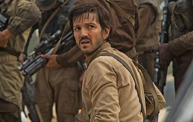 And Cassian from Star Wars, is also raising eyebrows. Photo: Lucas Films