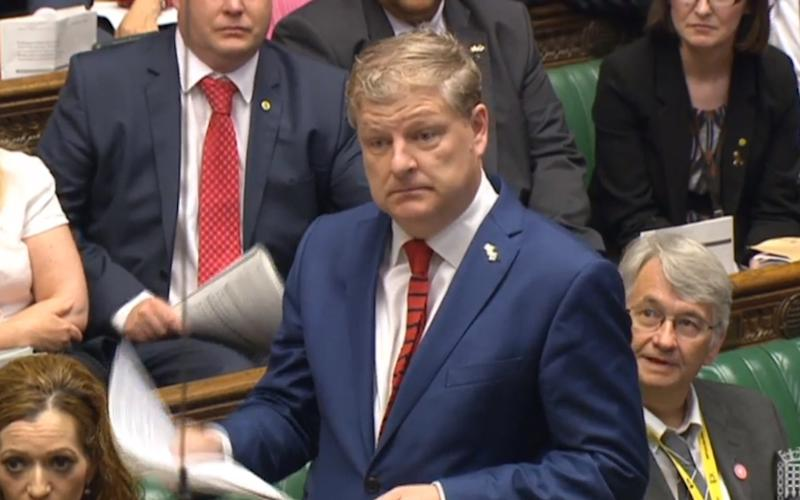 SNP Westminster leader Angus Robertson - Credit: PA