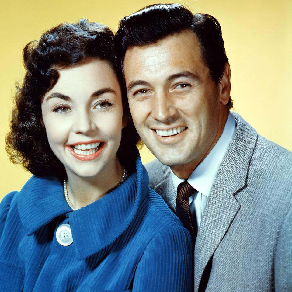 Hollywood Rock Hudson Really Did Have To Get His Teeth Fixed Here Are The Results