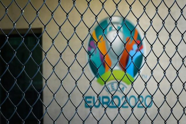 Ring-fenced: Euro 2020 will still be played in 12 cities when it kicks off 12 months late (AFP Photo/FABRICE COFFRINI)