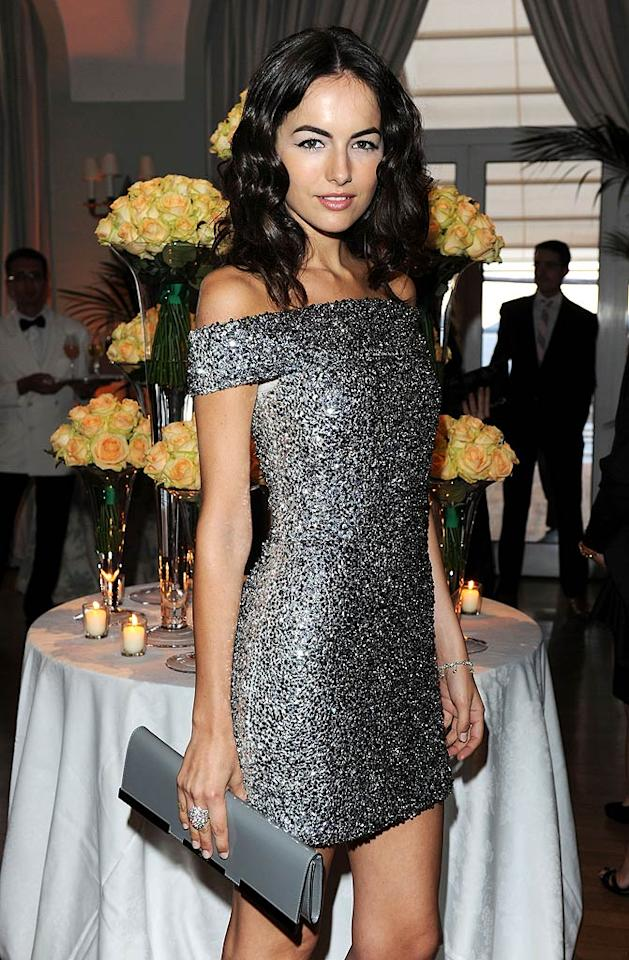 """We're not sure why Camilla Belle is at the film festival, but she did look pretty in her Swarovski-encrusted Gucci mini. Venturelli/VF1/<a href=""""http://www.wireimage.com"""" target=""""new"""">WireImage.com</a> - May 15, 2010"""