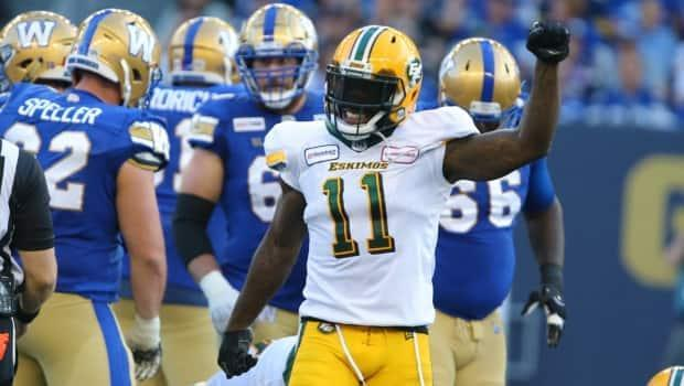 Larry Dean was one of the four players who tore Achilles tendons. (CFL - image credit)