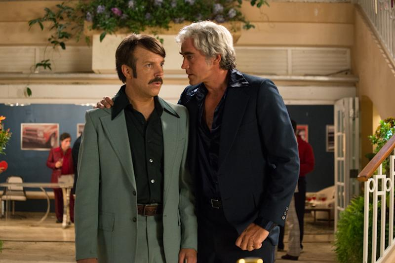 Jason Sudeikis and Lee Pace in Driven.