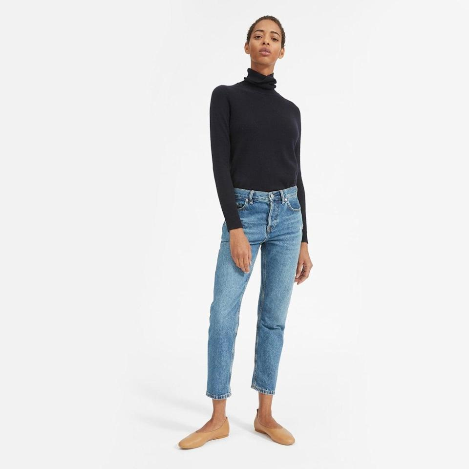 <p>The name of these <span>Everlane Day Glove Flats</span> ($118) is fitting because they truly feel like a glove.</p>