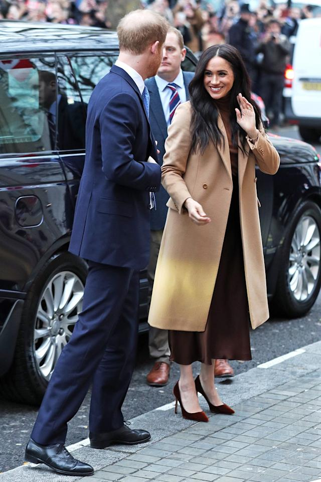 """Welcome back, <a href=""""https://people.com/tag/meghan-markle/"""">Meghan Markle</a>and<a href=""""https://people.com/tag/prince-harry/"""">Prince Harry</a>!"""