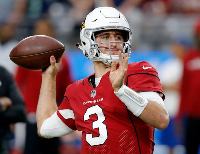 It's unclear if Josh Rosen will be the Cardinals' starting quarterback for the 2019 season. (AP)
