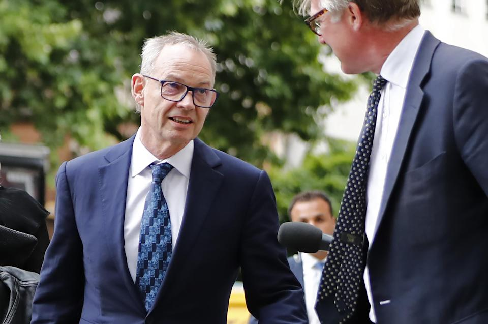 Accused: Former global co-head of Barclays Finance, Richard Boath, arrives at Westminster Magistrates Court in central London on July 3, 2017. Photo: TOLGA AKMEN/AFP/Getty Images