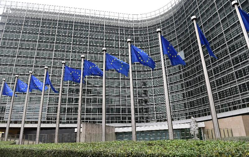 The European Commission building was among possible targets for jihadist fighters returning from Syria, reports said (AFP Photo/Emmanuel Dunand)