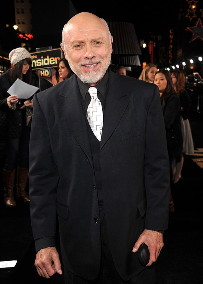 """<a href=""""http://movies.yahoo.com/movie/contributor/1800017079"""">Hector Elizondo</a> at the Los Angeles premiere of <a href=""""http://movies.yahoo.com/movie/1810219047/info"""">New Year's Eve</a> on December 5, 2011."""