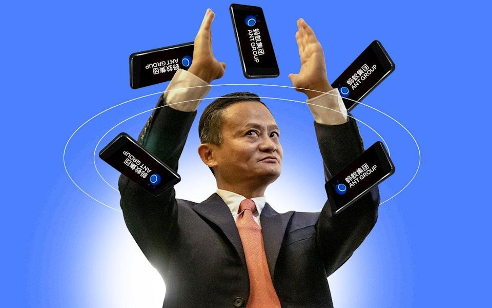 Ant Group was founded by Chinese billionaire Jack Ma - The Telegraph
