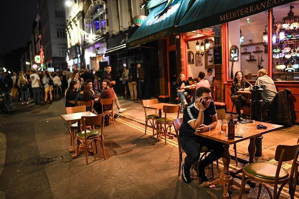 Eating out in London (Getty Images)