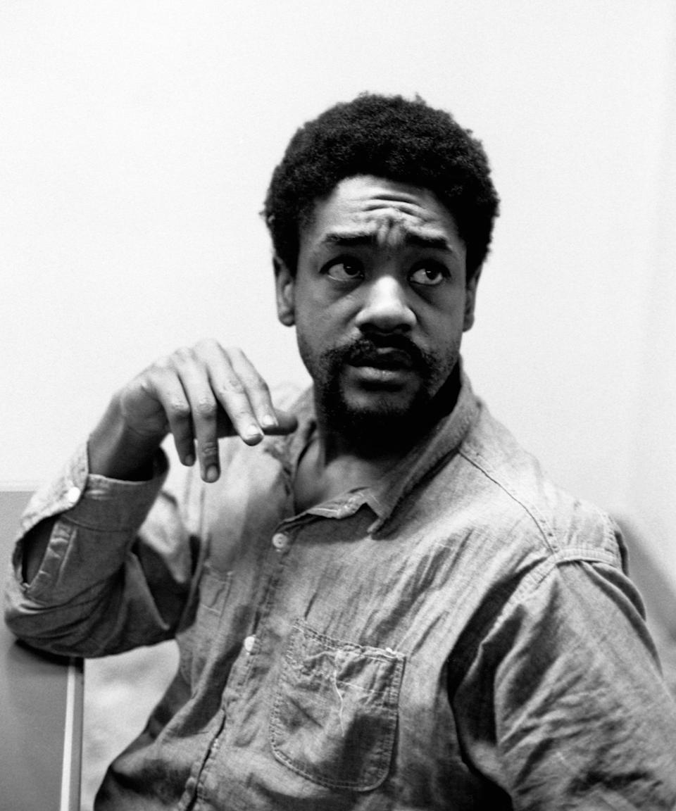 """<h2>Bobby Seale</h2><br>As the co-founder of the Black Panther Party alongside Huey P. Newton, Bobby Seale played a key part in Black politics throughout the 60s and early 70s. The organisation was originally established for the betterment of the Black community in Oakland, addressing needs like food injustice and public health as well as self-defense against racism.<span class=""""copyright"""">Photo: Ted Streshinsky/CORBIS/Getty Images.</span>"""