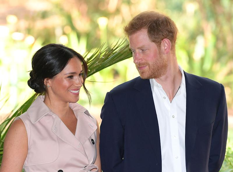 Meghan Markle has let slip her nickname for Prince Harry [Photo: Getty]