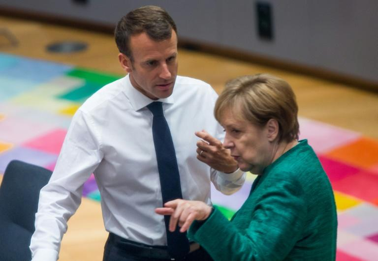 Macron will discuss strategy with German Chancellor Angela Merkel this week in Marseille