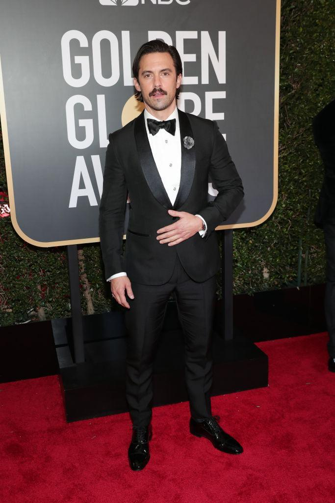<p>The <em>This Is Us</em> star attends the 75th Annual Golden Globe Awards at the Beverly Hilton Hotel in Beverly Hills, Calif., on Jan. 7, 2018. (Photo: Steve Granitz/WireImage) </p>