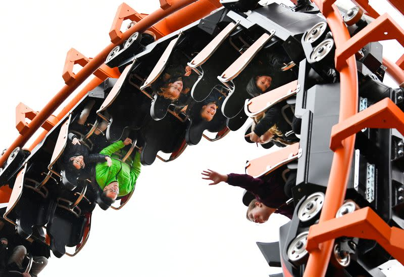 Two thousand people visit Hellendoorn theme park in the Netherlands as part of an experiment