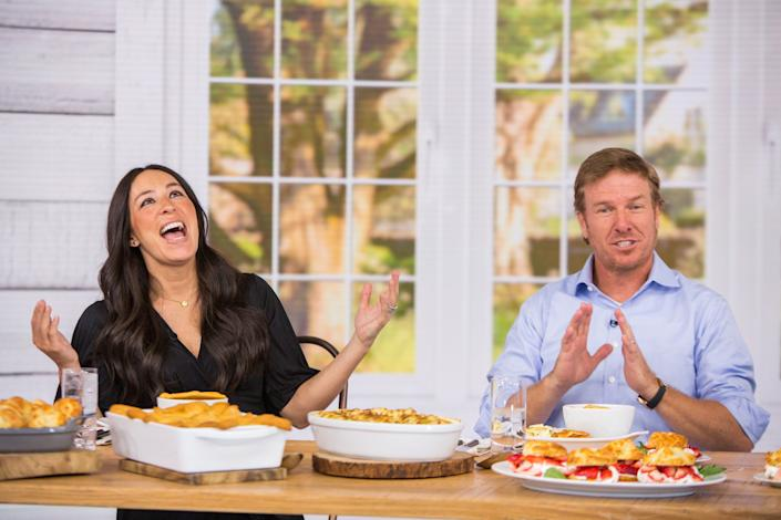 "<h1 class=""title"">Today - Season 67</h1> <div class=""caption""> Chip and Joanna Gaines first became famous on HGTV's <em>Fixer Upper.</em> </div> <cite class=""credit"">Photo: Nathan Congleton/NBCU Photo Bank/NBCUniversal via Getty Images via Getty Images</cite>"