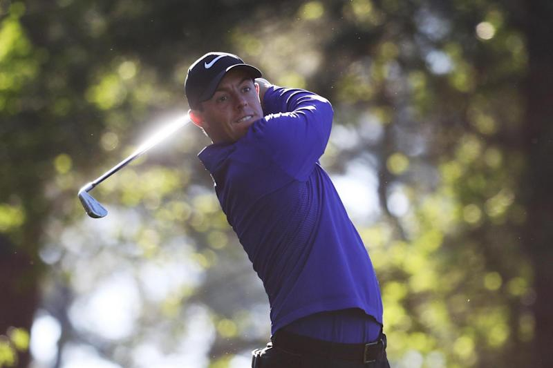 Elusive: McIlroy needs to win the Masters to complete his set of Majors: Getty Images