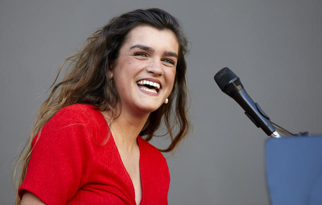 Amaia Romero en uno de sus conciertos (Photo by fotopress/Redferns)