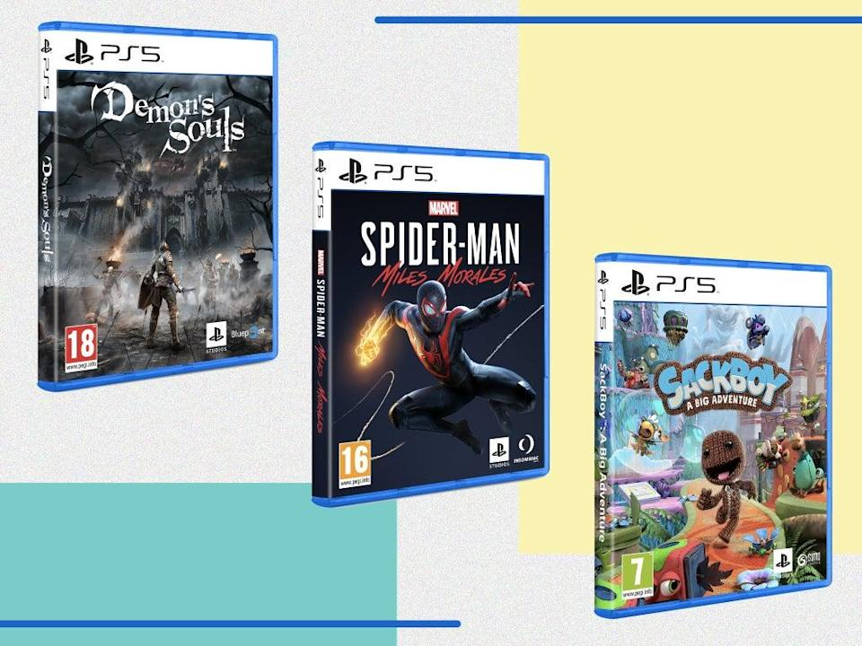 The PS5's library of games is small but growing quickly (iStock/The Independent)