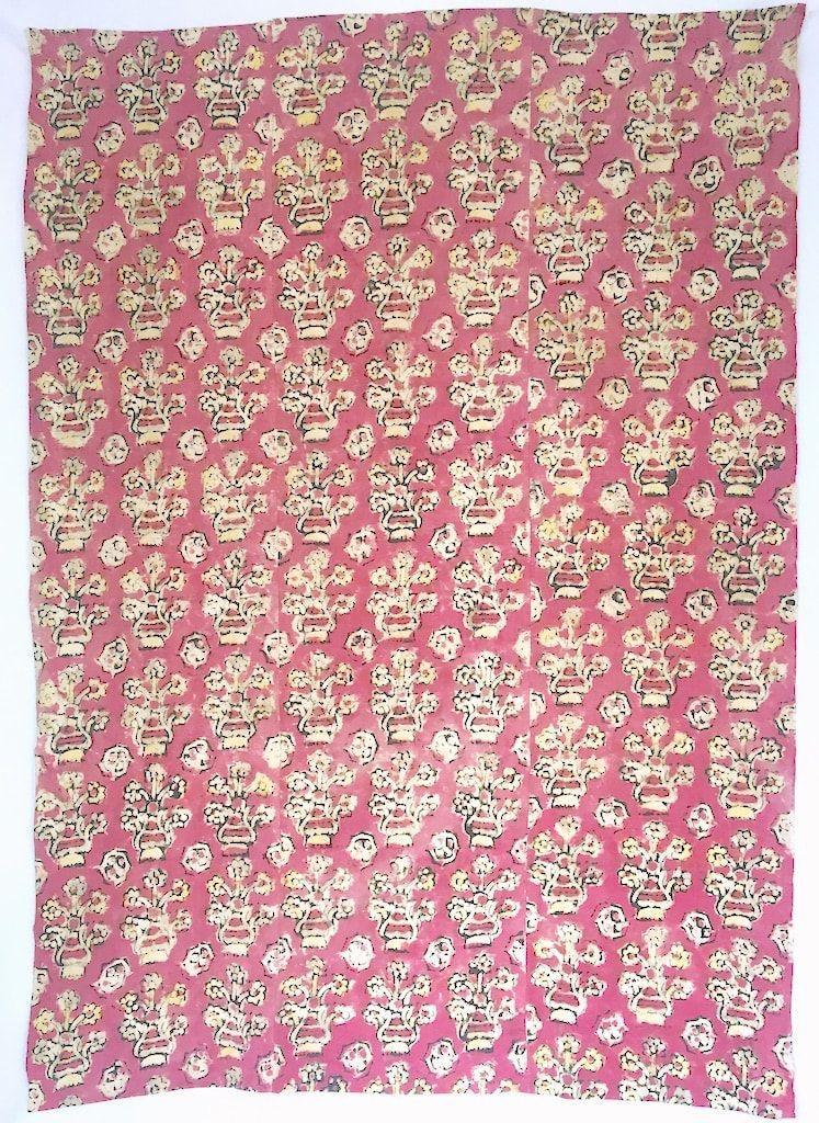 """<p><strong>Tamam</strong></p><p>shop-tamam.com</p><p><a href=""""https://www.shop-tamam.com/product/antique-turkish-pink-flowers-handwoven-cotton-blockprinted-textile-44x61-/748?cp=true&sa=false&sbp=true&q=false&category_id=12"""" rel=""""nofollow noopener"""" target=""""_blank"""" data-ylk=""""slk:Shop Now"""" class=""""link rapid-noclick-resp"""">Shop Now</a></p><p>This antique Turkish textile from New York City shop, Tamam, features a charming block-printed floral print and would make a lovely choice for eye-catching pillows or a decorative wallhanging.</p>"""
