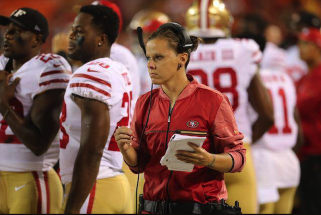 Katie Sowers' ascension to full-time coaching job with 49ers is more progress