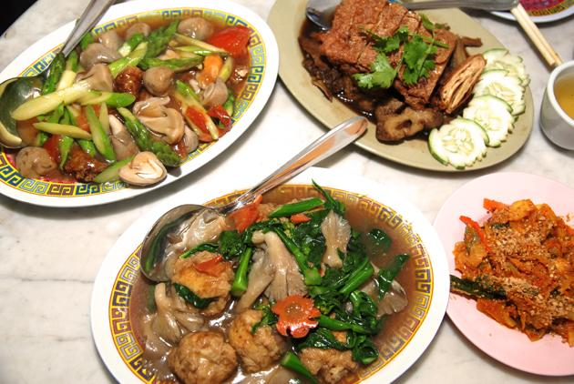 Where to have a Vegetarian Feast this CNY