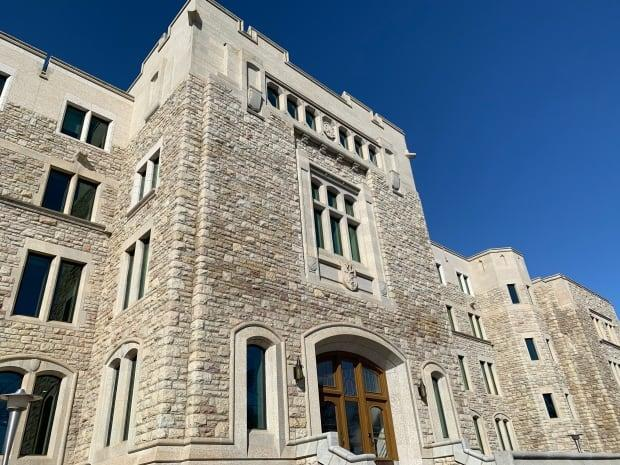Tyler Skrzypek, the general manager of the University of Saskatchewan's custodial operations department, estimates the department has done as many as 60 COVID cleanings on campus since October. (Guy Quenneville/CBC - image credit)