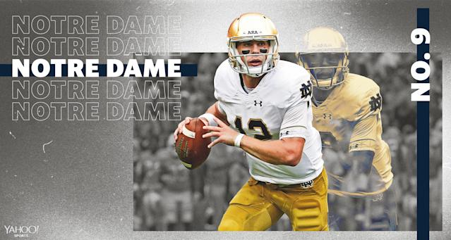 Is another undefeated regular season in the cards for Notre Dame in 2019? (Via Amber Matsumoto/Yahoo Sports)
