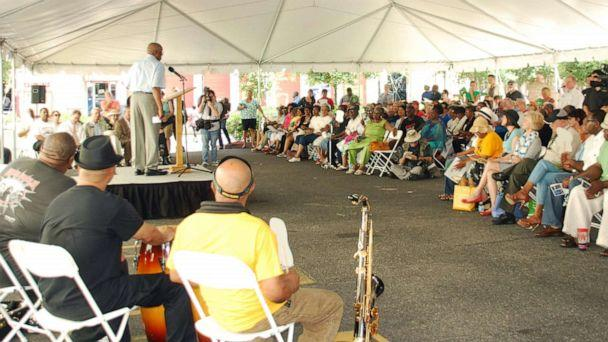 PHOTO: Residents gathered for a Juneteenth celebration in Galveston, Texas, in 2014. (Galveston Historical Society)